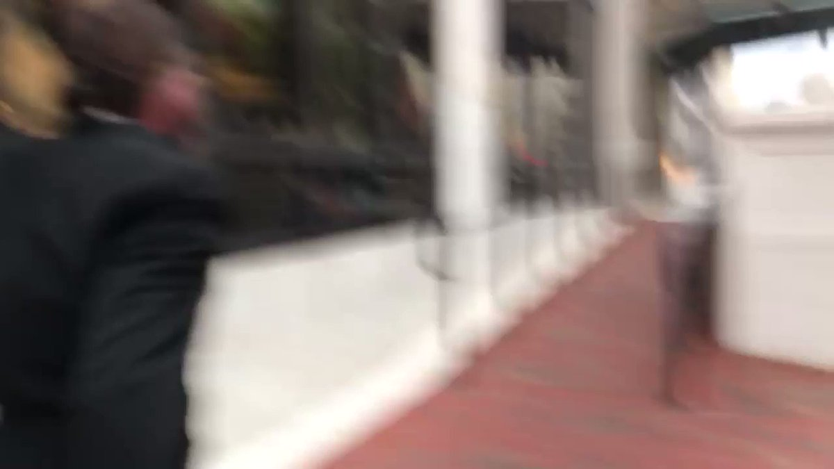Two people from Middleburg charged in the insurrection at the Capitol sprinted out of a federal courthouse after their hearing @FCN2go