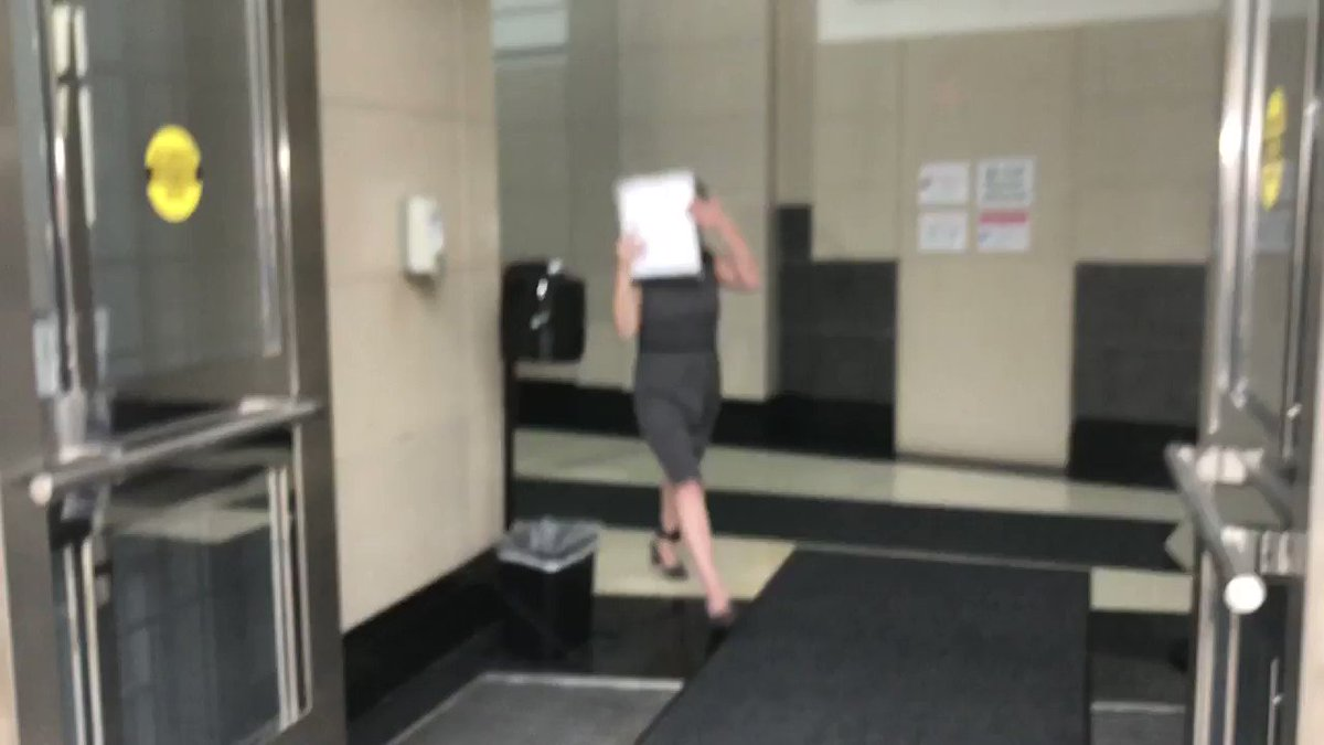 #NEW: Video of Pert and Winn running out of the federal courthouse after facing charges in connection to #CapitolRiots. @ActionNewsJax