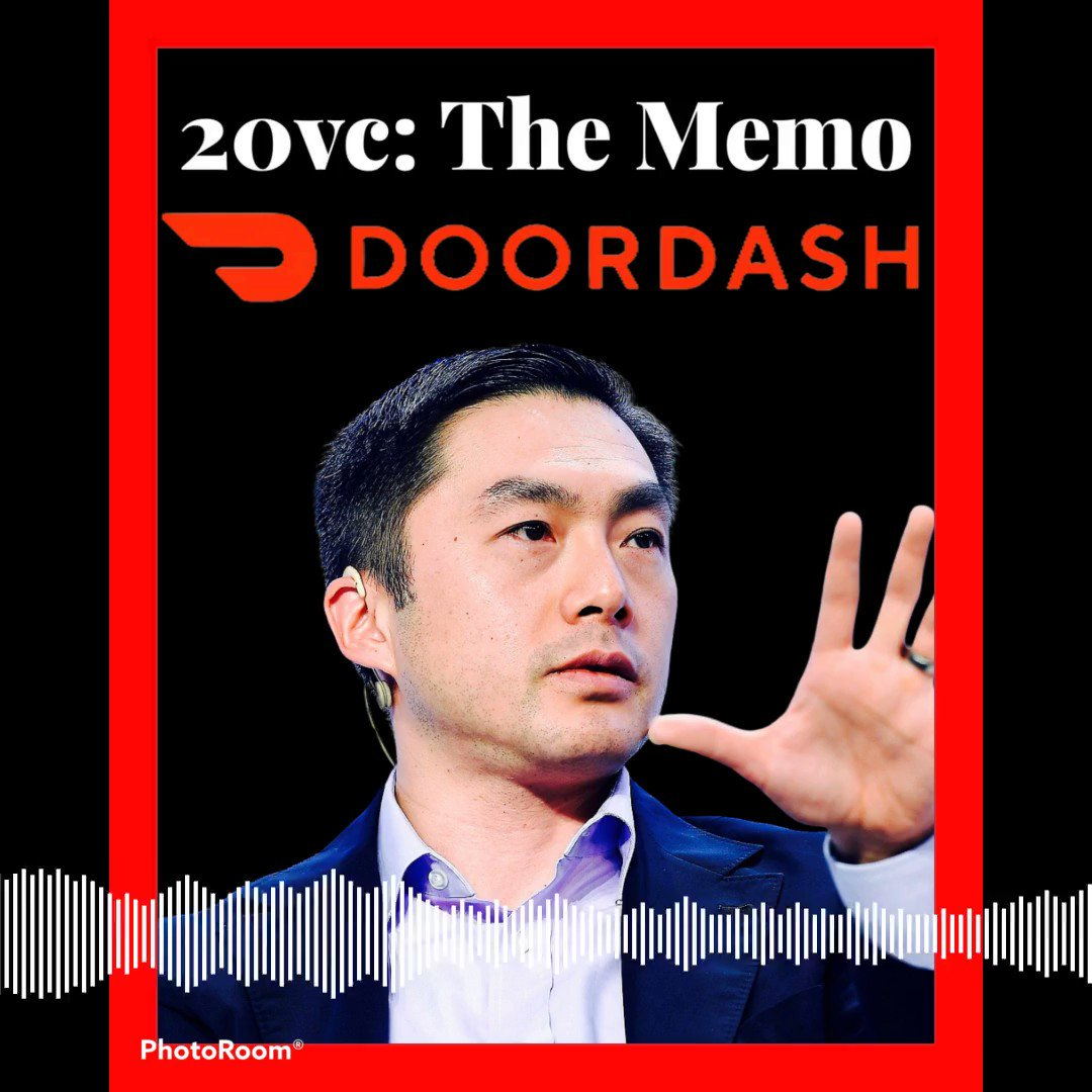 🚨 Introducing 20VC: The Memo🚨   Brand new segment of 20VC dropping tomorrow.   The Memo unpacks the greatest venture deals of last 10 years, all centred around the investment memo written by lead partner.   No better than @Alfred_Lin @sequoia discussing @DoorDash tomorrow. 💥