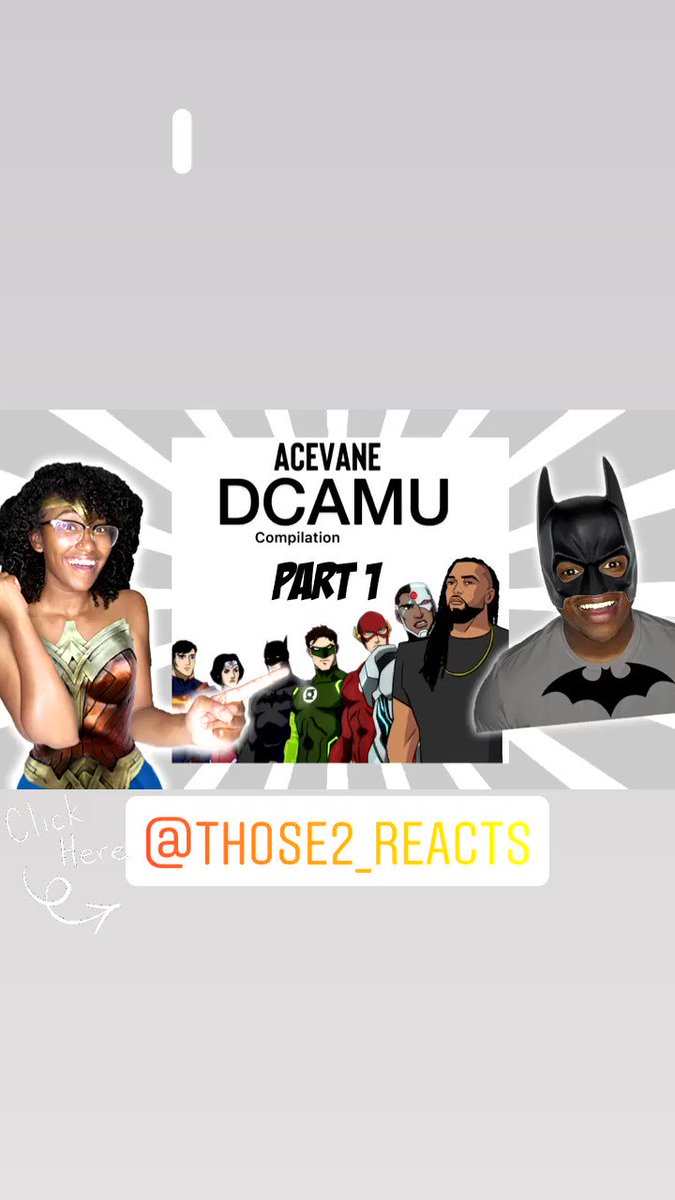 ‼️New Video ‼️ AceVane Justice League DCAU compilation (Part 1) REACTION 💥  YouTube: Those 2! REACTS  * LINK:  * #youtube #those2 #those2reacts #reaction #subscribe #supportblackcreators #contentcreators #share #couple #dcau #acevane #justiceleague