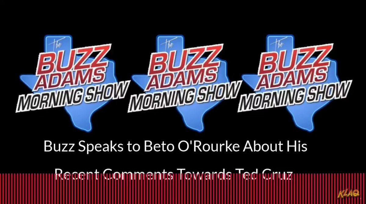 Beto ORourke to @BuzzAdamsShow on running for Texas governor in 2022: Yeah, you know what, its something Im gonna think about.