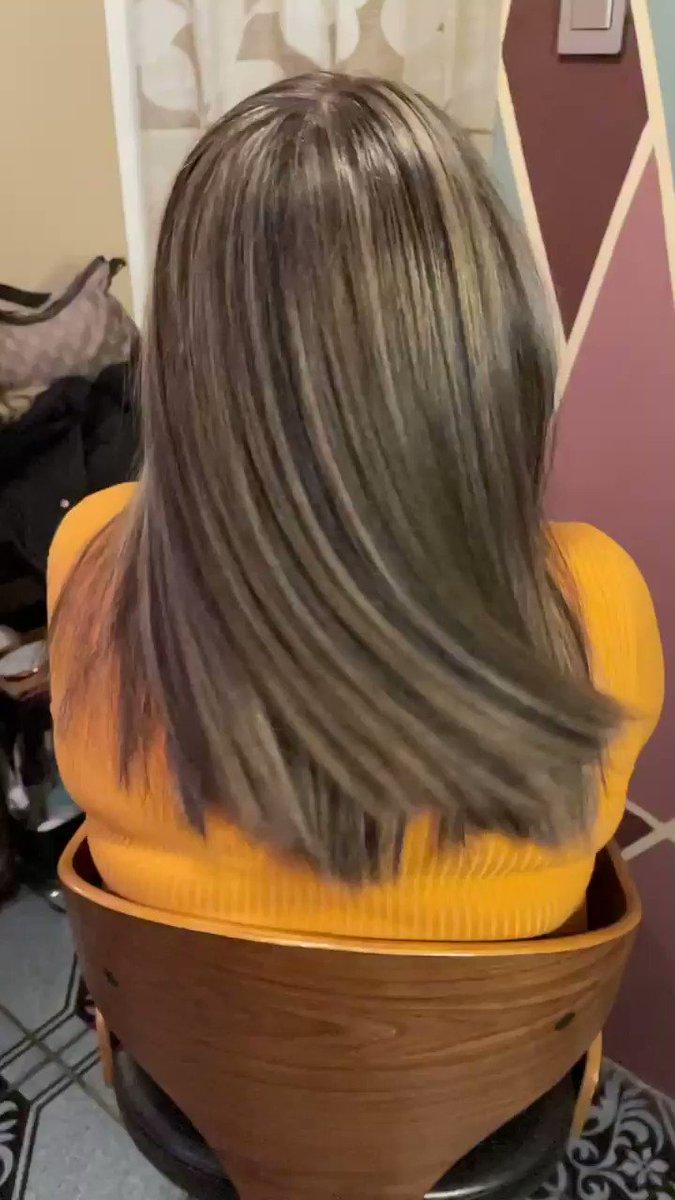 #work #Highlights #hair #stylist #hairstylist