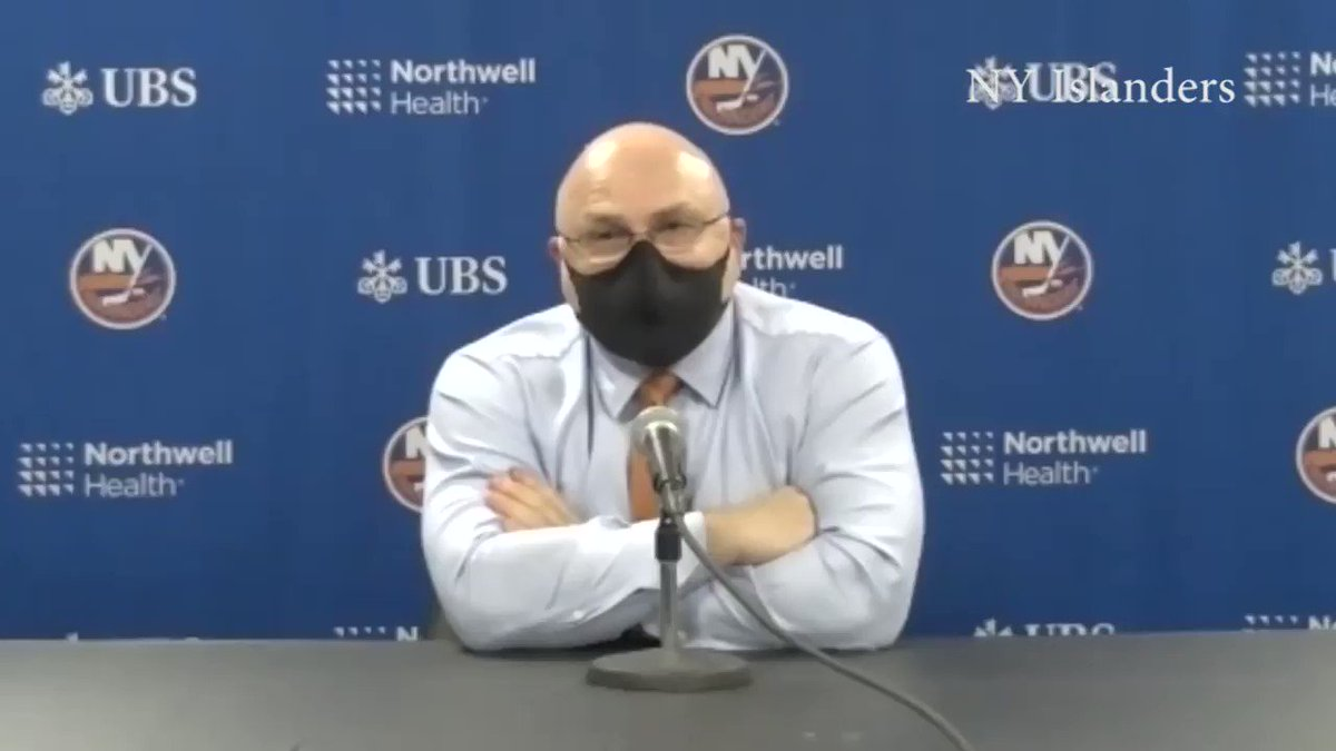 """I just felt  we had one line tonight, that's all I felt like I had,"" said #Isles coach Barry Trotz after a disappointing 3-2 loss to the shorthanded Capitals. @News12LI @Bluelinedeli719 @IslesMeetups @ExIsledUsher @Offside_Tavern"