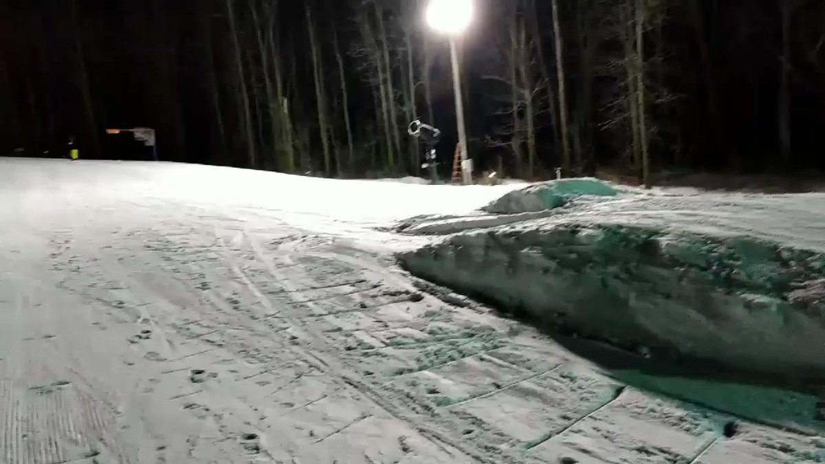 My son landed his first jump! #snow #snowboarding #jump #sendit
