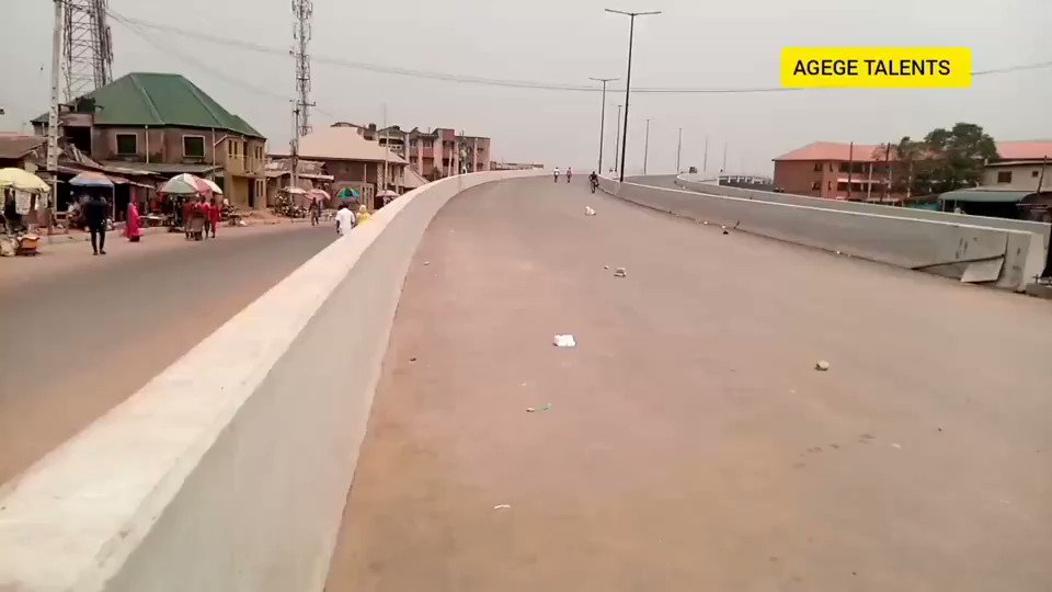 The new face of pen cinema area of Agege.The the long-awaited Agege Pen-Cinema Bridge almost done. In which way economically the bridge will brought to the people of Agege?   @InsideMainland @AgegeLG @TheGuildng @LagosArewaYouth @TahaAdam @agegepulsemag @oil_shaeikh @Deykho_sani