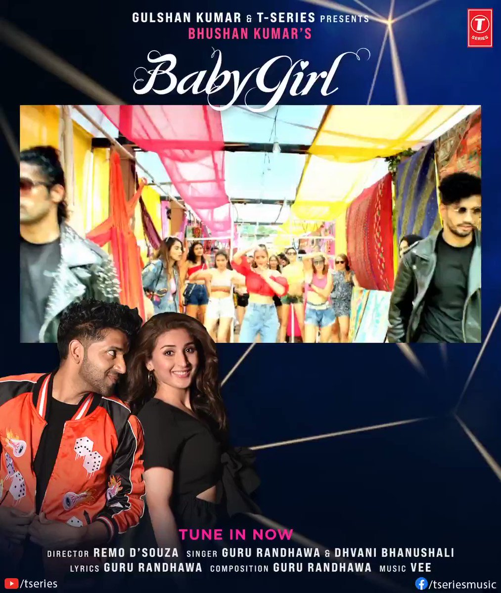 #BabyGirl continues to paint the town all pink! Keep grooving non- stop as its 250M views and counting on YouTube for our favourite dance party number. Tune in now:    #tseries #BhushanKumar @GuruOfficial @dhvanivinod @officialvee @remodsouza