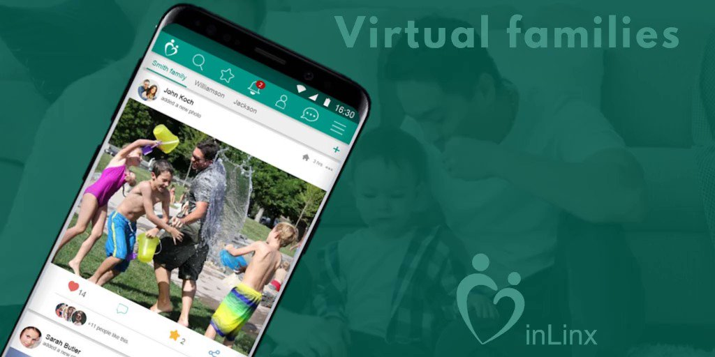 inLinx allows you to stay connected to your loved ones with virtual families!  To find out more about virtual families by checking out the inLinx Facebook page!    #inLinx #Socialmedia #Virtualfamily #Stayconnected #Family #Friends #Virtualfamilies