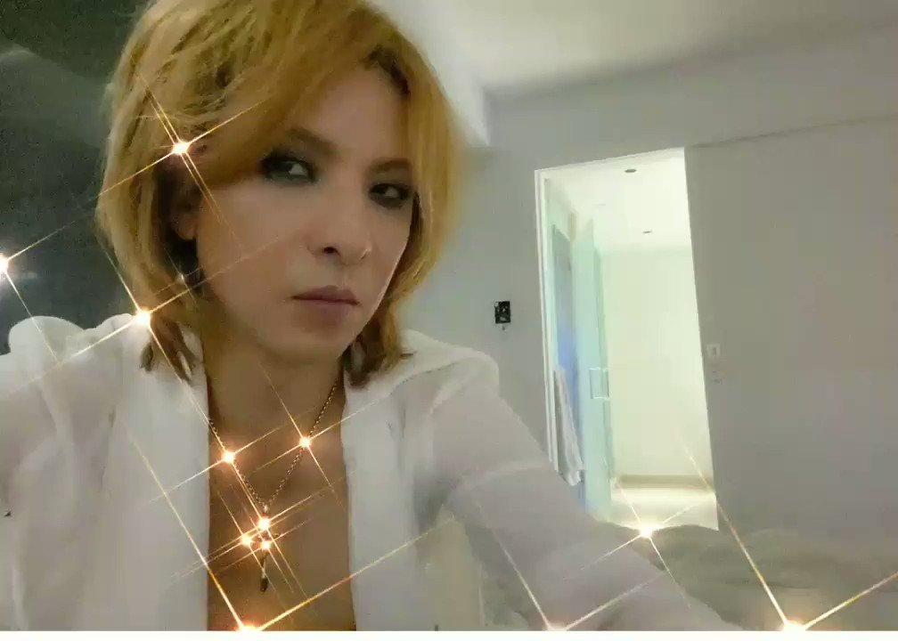 @YoshikiOfficial @marilynmanson @TheChainsmokers @st_vincent @NicoleScherzy @scorpions @SarahBrightman @SUGIZOofficial @HydeOfficial_ @LindseyStirling @JaneZhang @YouTube はいYoshikiさん❤️ 元気です⤴️⤴️💓(o'∀`)💓🎶 Yoshikiさんもお元気でしょうか⁉️ お顔が拝見出来て嬉しいです💗💗💗  日本より…健康と安全をお祈りしています🙏✨✨ #Underthesky  #YouTubeOriginals  #Yoshiki  #TeamYoshiki