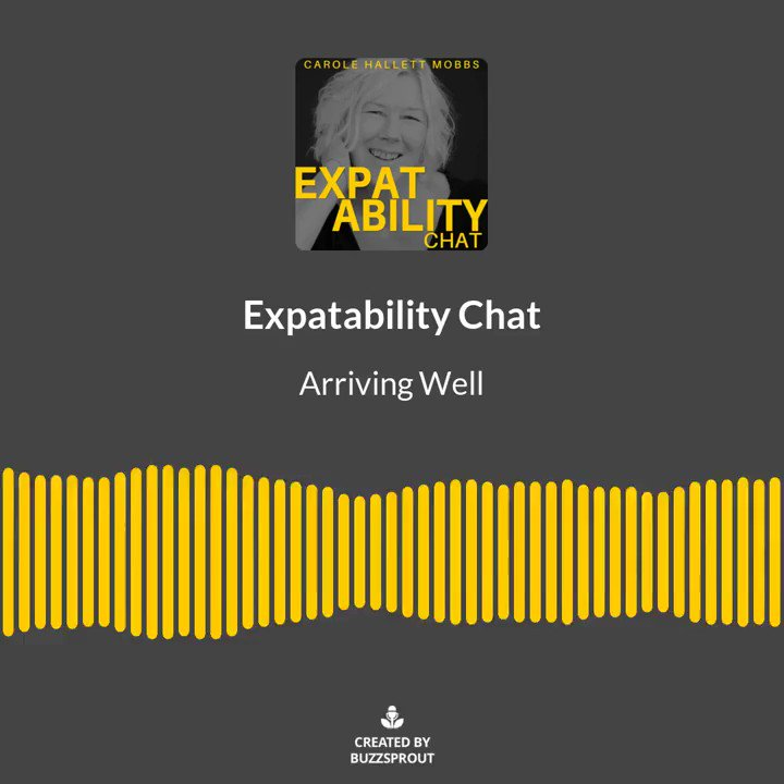 The tips and tricks in this episode will ensure you're ready to hit the ground running in your new home country, and help you and your family's smooth transition to expat life. Arriving Well - Expatability Chat #Podcast #expat #expatlife #parentingtips