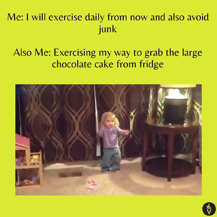 Walk from the room to fridge is a task too, do you agree? 🚶‍♀️😪  Tag your #FoodieFriends and wish them #HappyNationalChocolateCakeDay 🙈🎂  #NationalChocolateCakeDay2021 #ComedyTribe #TribeVibeLive #TribeVibe #AudreyNethrey #WednesdayThought #MidWeekMood #Twitterversary
