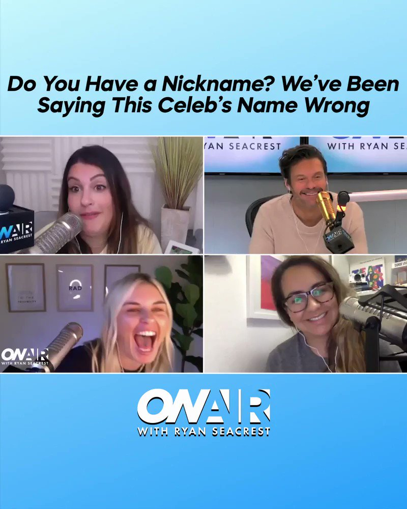 Anne, Annie?! Did you know @TanyaRad's name isn't really Tanya? 🤣 Join the convo here: