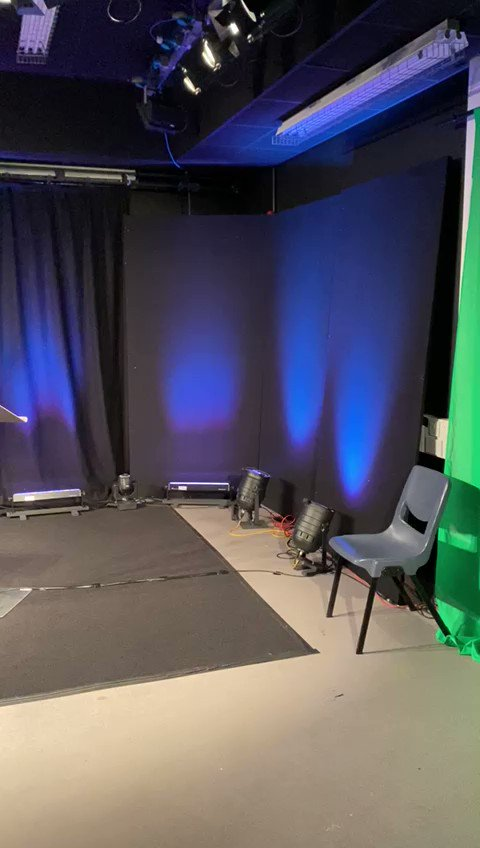 LIGHTS🔦CAMERA🎥ACTION🎬  We're going live in 5...4...3...2...1!   Catch our live stream here:   @AoC_info @LondonColleges @hackneycc @towerhamletscol @RedbridgeColleg @EppingForestCol @HaveringCollege @havering6thform @Attlee_alevel   #BehindTheScenes🎬