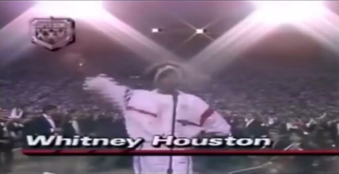 It's been 30 years since Whitney Houston sang her iconic version of the Star Spangled Banner at the Super Bowl!   The star's version is considered the anthem's greatest rendition ever.   #whitneyhouston #starspangledbanner #usa #SuperBowl