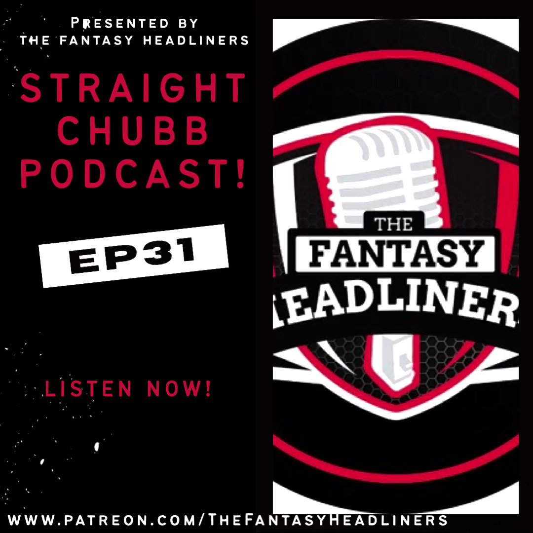 Here it is! @FntsyHeadliners  Exclusive Podcast Baby! 🎧     @ChrisKennedy318 and I get you ready! 🔥🔥🔥🔥🔥🔥  @krich1532 drops in to rant 🔥   THERE IS NO OFFSEASON!!!  #NFL #FantasyFootball #HeadlinerNation #NFLTwitter