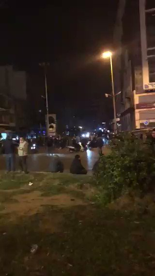 According to reports , LSF fired live ammo to the crowds of protesters injuring 6 people before the incident with the grenade.   Unclear if the grenade explosion was intentional or a mishap by the forces #Tripoli #Lebanon @ignis_fatum #BreakingNews #Breaking