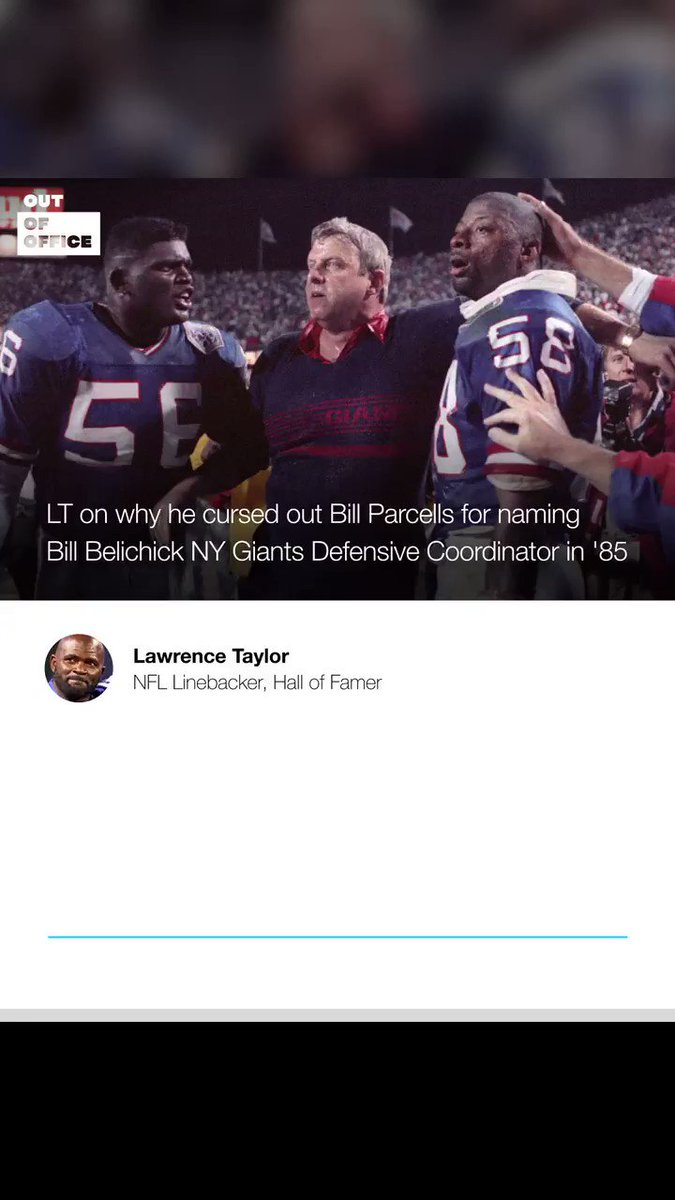 New #OutOfOffice with Pro Football Hall of Famer Lawrence Taylor   - @LT_56 talks to @richkleiman about winning 2 Super Bowls with @Giants - His relationship with Bill Parcells - His debate with Michael Jordan on #SBLV picks & more   Listen/Subscribe🎙→ https://t.co/VXwZZNxJx7 https://t.co/Mp7fVDSpuR