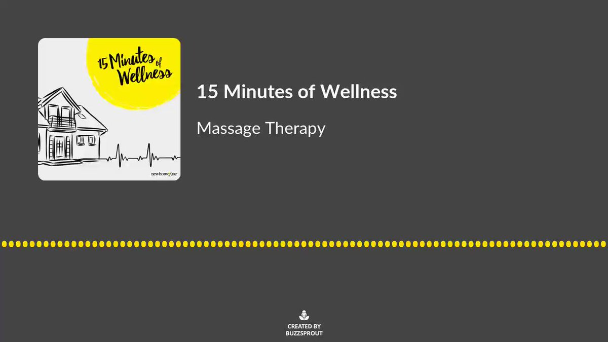 In Season 5 of 15 Minutes of Wellness, our hosts are talking with New Home Star Selling Sales Manager and Certified Massage Therapist Kristine G. about movement and massage therapy! Check out the first episode of the season:  #Podcasts #Wellness