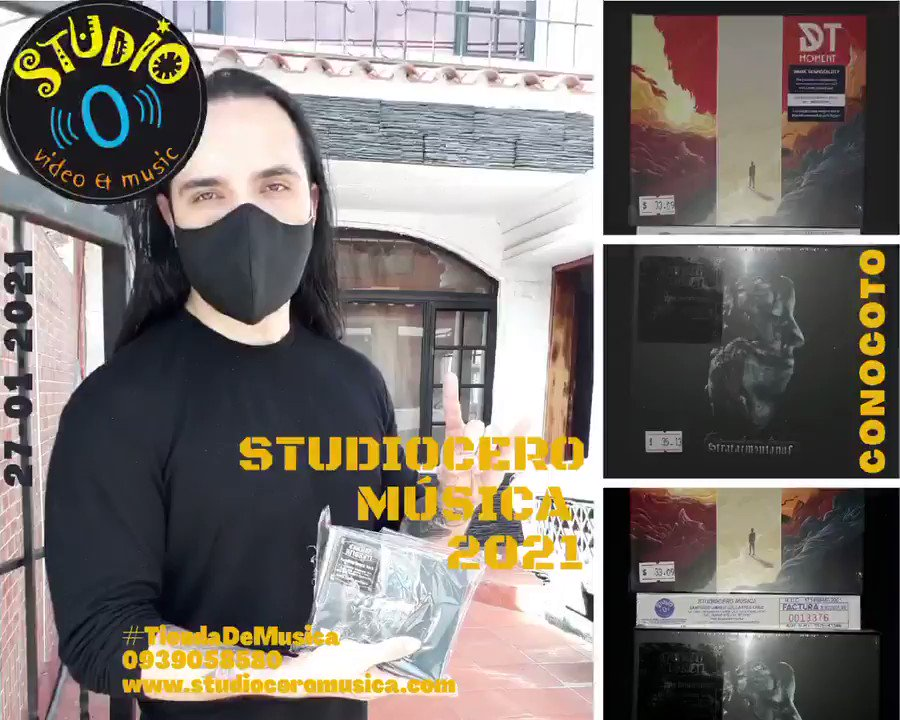 Ruta 27 - 24 de enero 🚚, y envíos a todo el Ecuador 📦   @studio_cero #TiendaDeMusica #EntregasaDomicilio #Gratis #PuertaPuerta #Envios #EnviosTodoElPais #EnviosEcuador #Metal #Musica #StudioCeroMusica #Carcelen #Quito #Ecuador