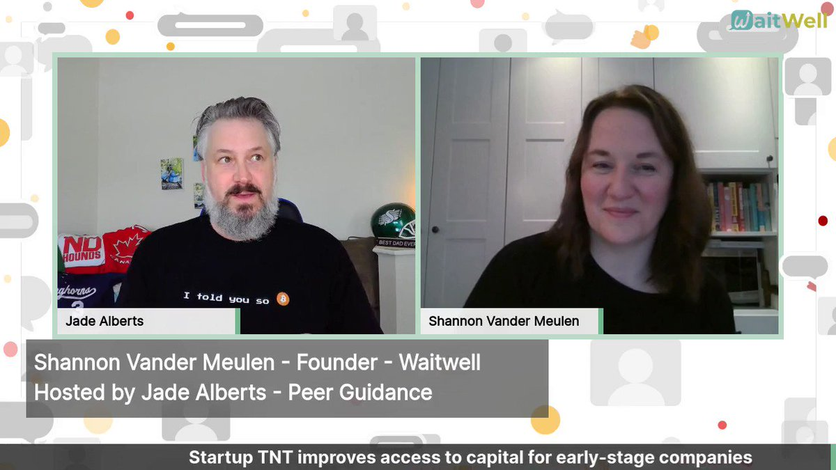 Shannon Vander Meulen, the co-founder of @WaitWell2 was my #TellingItLikeItIs guest today. How many customers are you losing because they don't want to stand in line? Shannon tells us why having an online queue system is important. Check out  #entrepreneurs