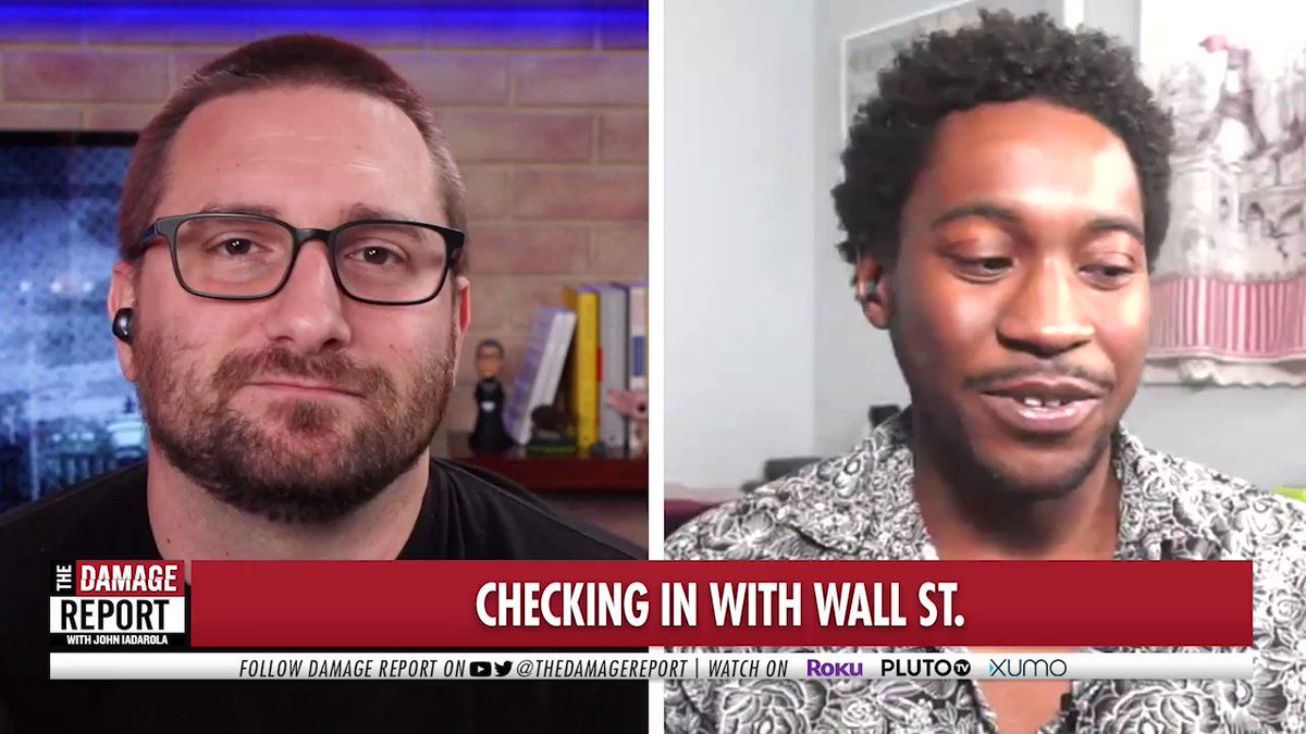 """""""The gist of stocks is that they go up & they go down. They coordinated so that GameStop would shoot up to these wild numbers. Hedge fund managers were betting on the company failing. They are finally the ones getting screwed over.""""  - @DanFromTheWeb, host of @PowerReportWrld"""