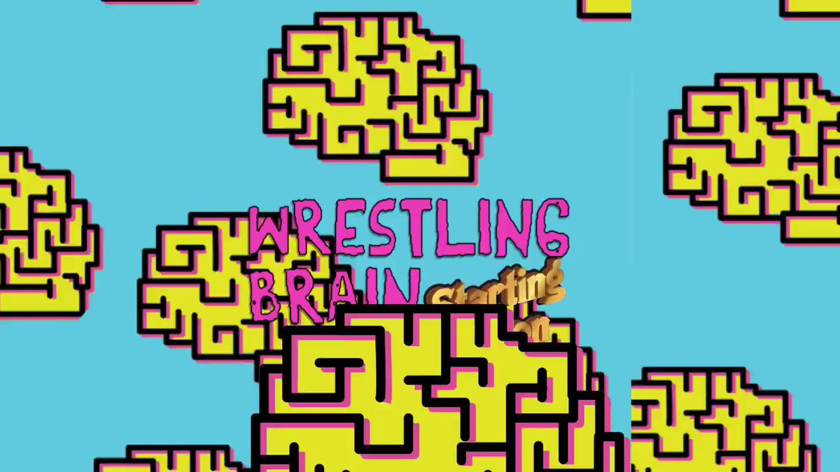 Wrestling Brain with myself and @j0shc  10pm ET right after #AEWDynamite