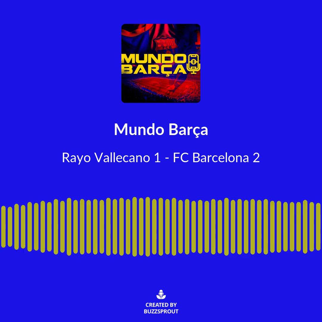 Un Barça sin margen, remonta y se mete en cuartos de final de la Copa del Rey. Link al episodio completo en Bio.   #fcbarcelona #fcb #barcelona #barça #mundobarça #mundobarçapodcast #forçabarça #podcast #BarcaRayo #rayobarca #CopaDelRey
