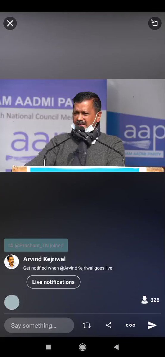 """Whosoever is responsible for violence on January 26 should be punished. But the violence doesn't end the farmers' issues....No country will be happy if its farmers are not happy. We have to support farmers,"" @ArvindKejriwal   #FarmersProtests"