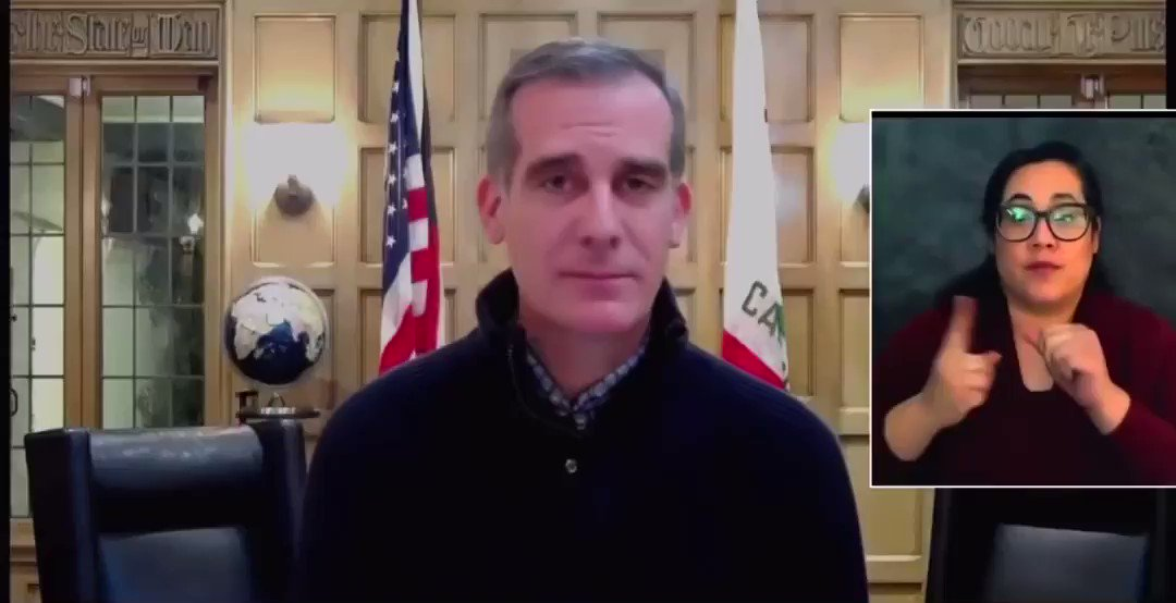 "Here's @MayorOfLA on Dec 21 asked about when he'd get the vaccine, he said ""I'm not jumping any queue. I'll wait for my place and not get ahead of [essential workers]. When they tell me I'd normally get it""  Once again Garcetti proves to be full of shit"