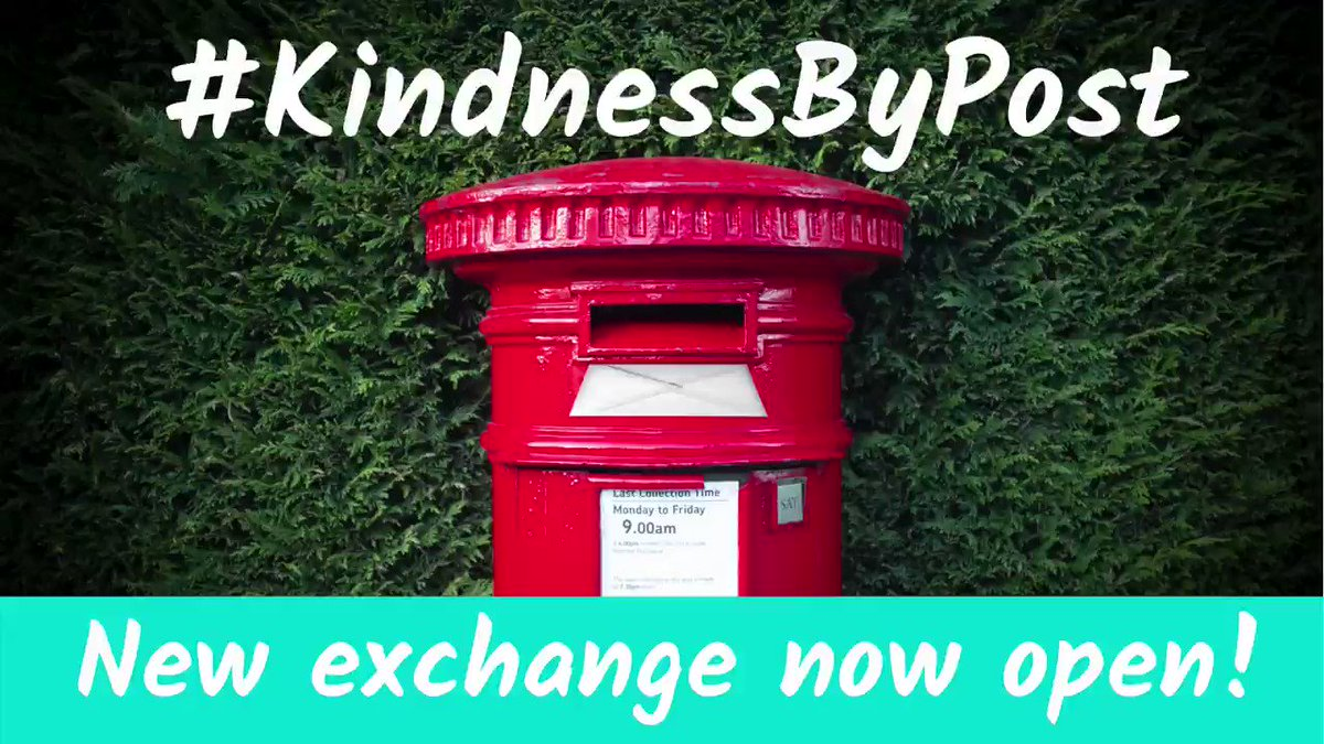Deadline to sign up is 11pm tonight! Don't miss out the Great British Valentine! 💌💕 @MHC_UK #KindnessByPost