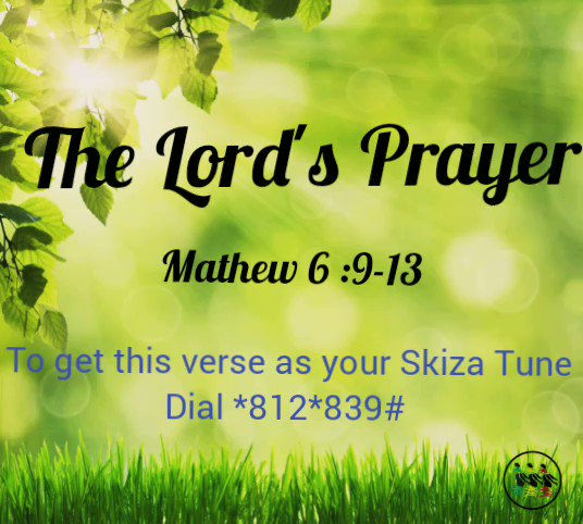 """""""Our mother's prayers keeps us going."""" Being a prayerful person is the best weapon against all the challenges that come your way. Listen in to the Lord's Prayer and you can also have it as your Skiza Tune, simply dial *812*839# #Sunday #PrayerWeekend  #Jesse"""