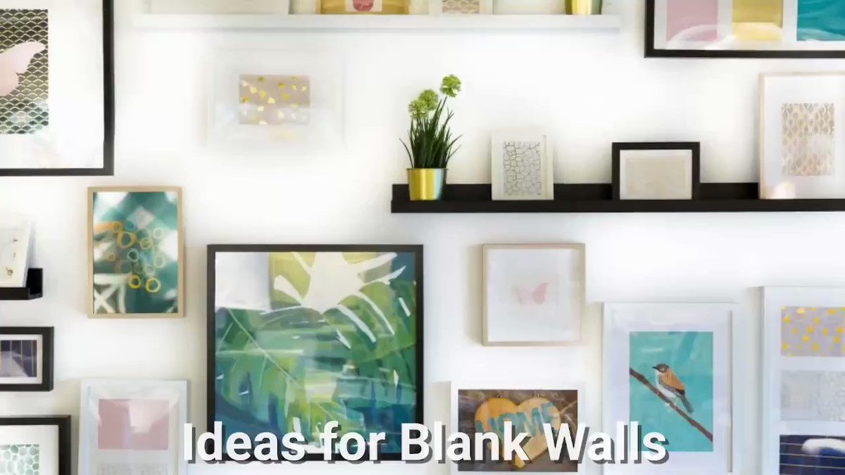 #Ideas for #blank #walls - #Easy (and #affordable!) ways to fill the void! Check them out here -   @CountryLiving #homedecor #interiordesign #wallart #interiordesignideas