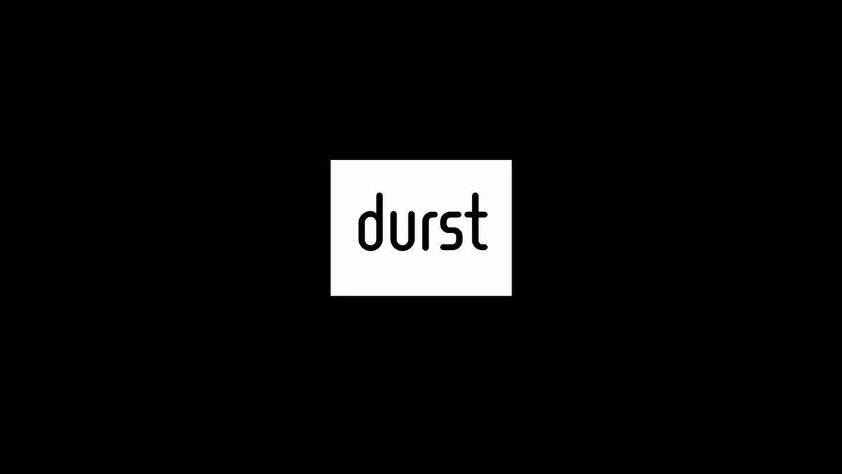 Image for the Tweet beginning: Estudios Durero relies on Durst's