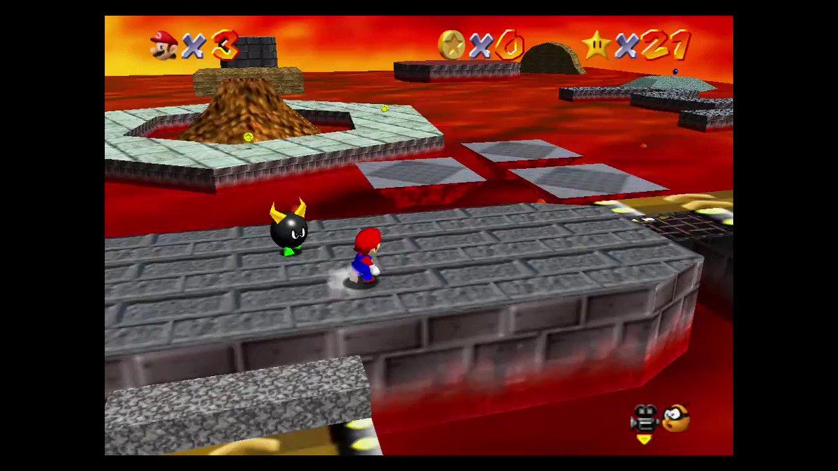 New SM64 speedrun WR - burning alive 1,782s #SuperMario3DAllStars #NintendoSwitch