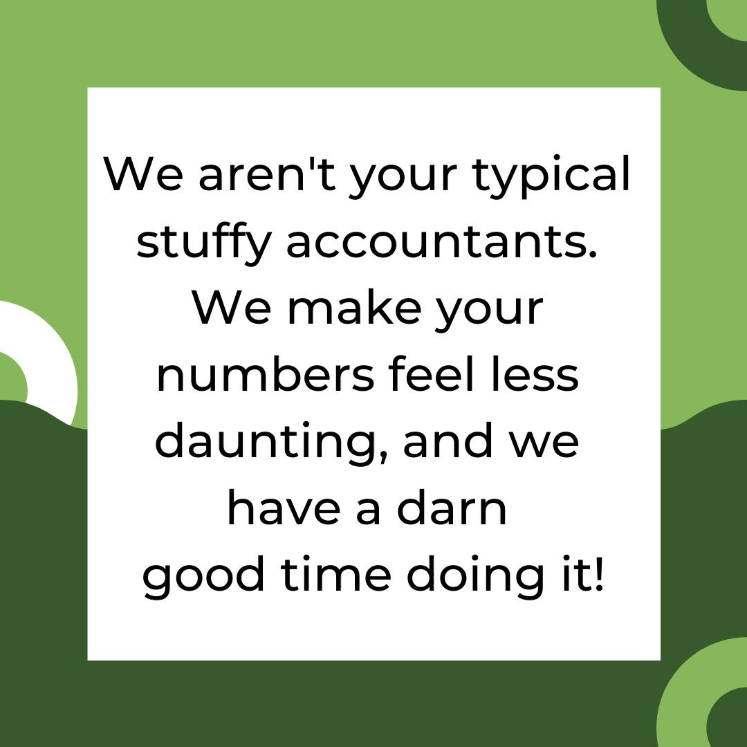 Let us do the work for you! #accounting #easy