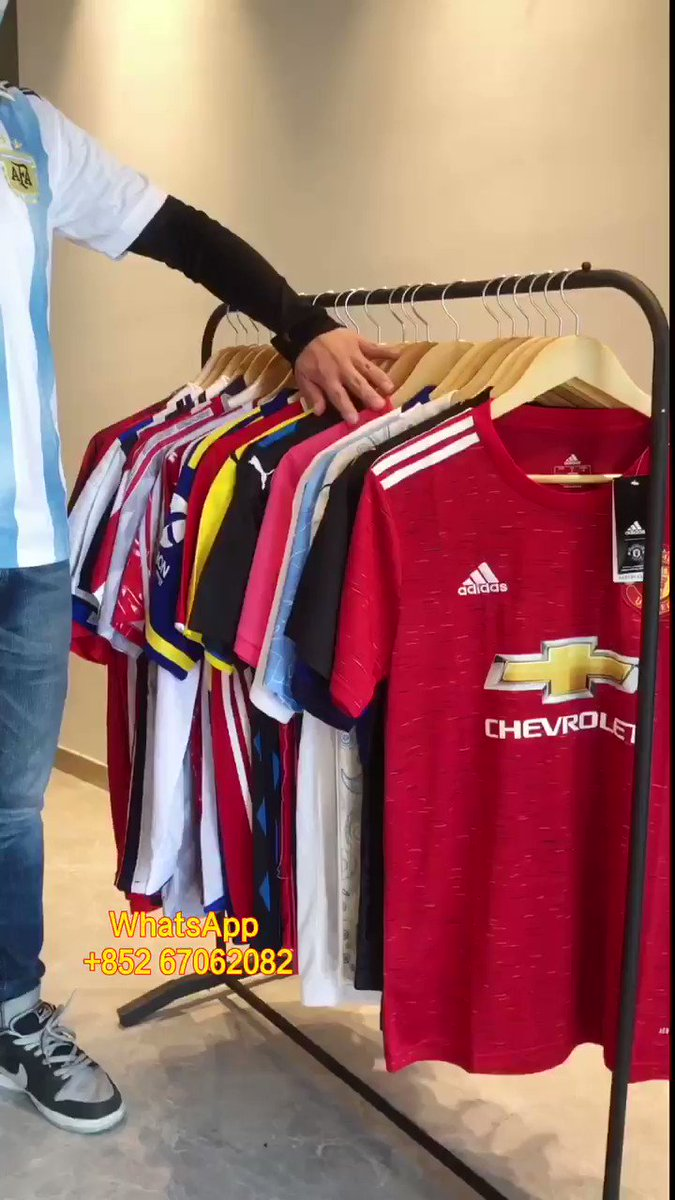Club football shirt #RealMadrid #ManchesterUnited #Juventus #Barcelona  #Jersey