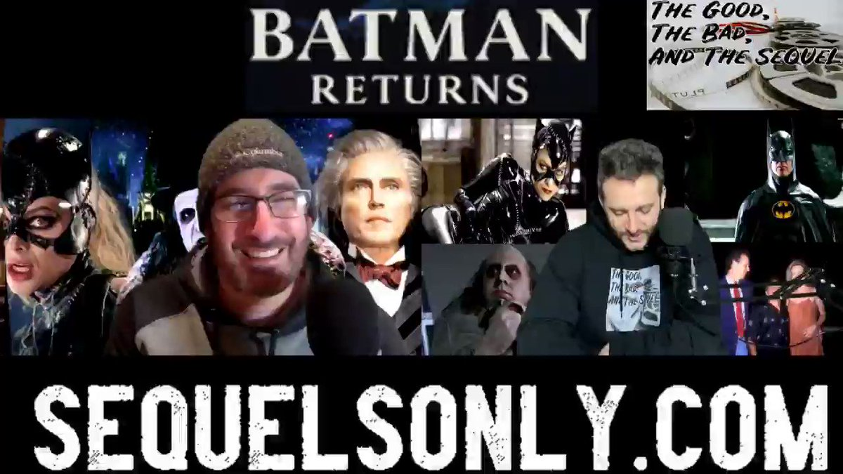 The #movie #sequel for this weeks #review is #Batman Returns (the best Batman according to Doug). This movie was so much to discuss and the behind the scene stories were amazing to uncover. Check it out here  #thursdaymorning #thursday #PodernFamily #comics
