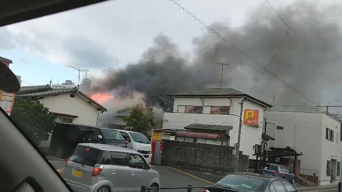 どこ 火事 高知 市