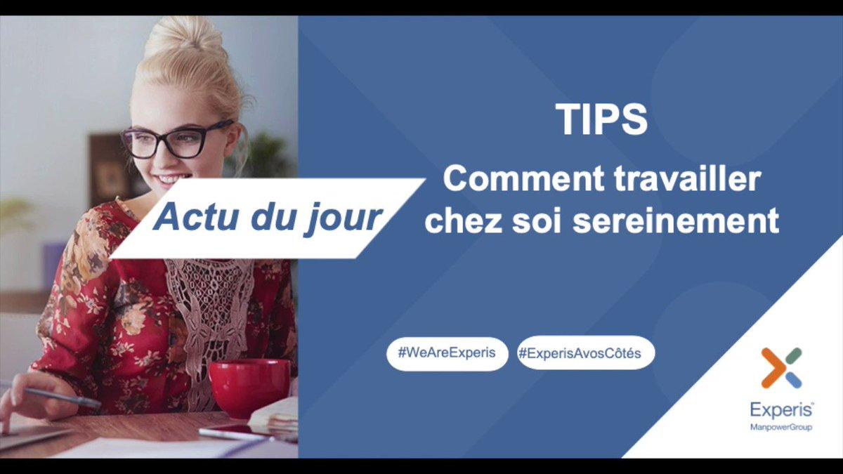 Image for the Tweet beginning: #Télétravail Pour bien commencer le