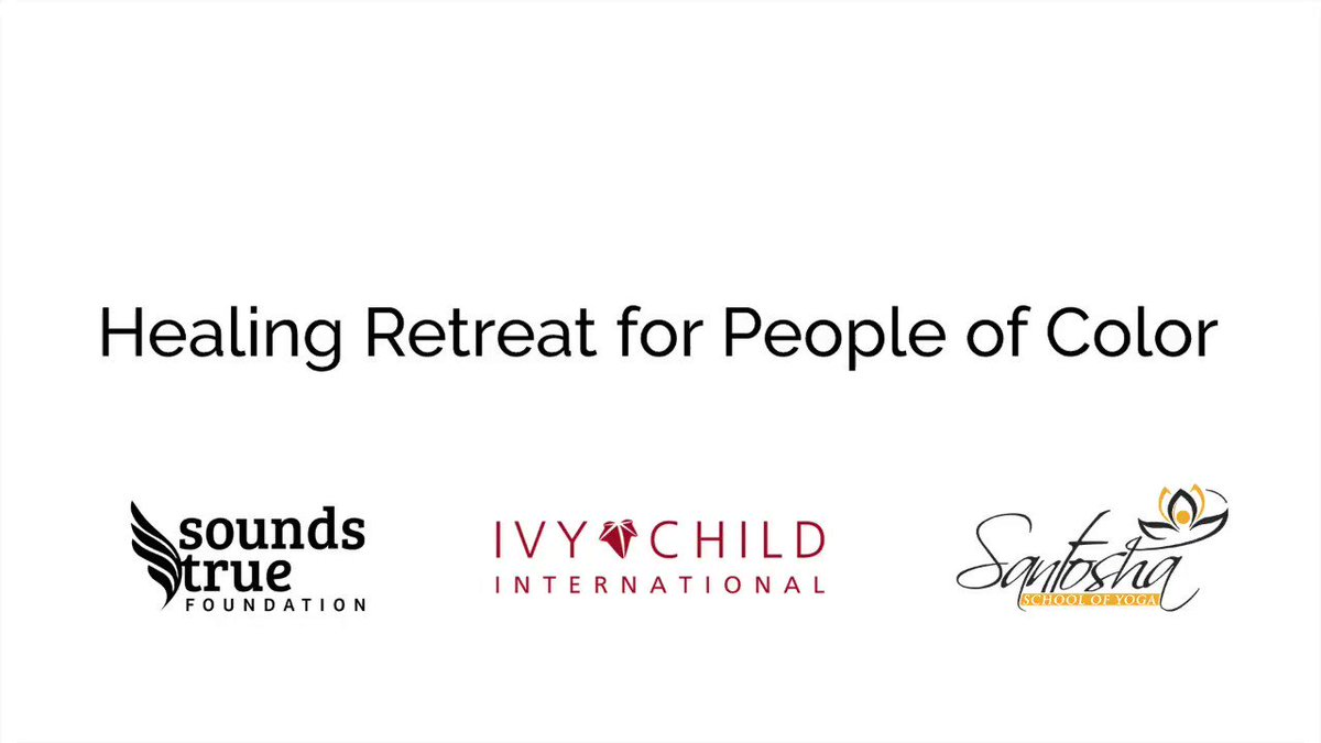Check out this free monthly healing retreat for POC—the upcoming retreat on Feb 7 features our #InspiringMinds presenters @drgailparker & @oreggieglobal. Hear more from Reggie Hubbard at our March 10 event! https://t.co/9HNdGatBWw https://t.co/5tGdD8Xl34