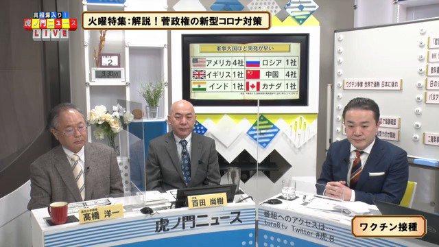 """高橋洋一「ウイルスは兵器なのでコロナワクチン開発は軍事技術の応用できるのでウイルスの基礎研究をしてる軍事大国ほど早い。一方で日本は日本学術会議が""""基礎研究もするな""""とやったりと軍事研究をやってないから遅れてる」  こういう事実は知られるべき。 日本を守るためには軍事研究が必要"""