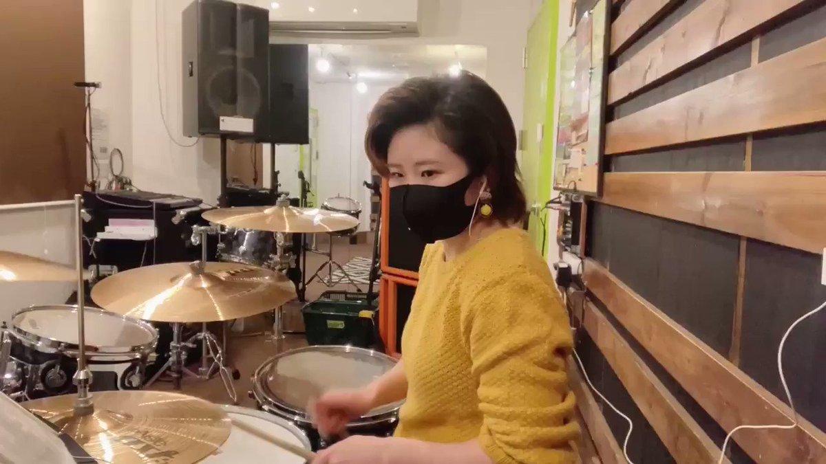 このご時世普段の練習は在宅+消音パッドでやっているので、偶にスタジオに入ると生ドラムの音にビビってしまいます。という訳で久々に動画を撮りました。今練習中の曲です。走り始めたばかりのキミに/Poppin'Party#叩いてみた