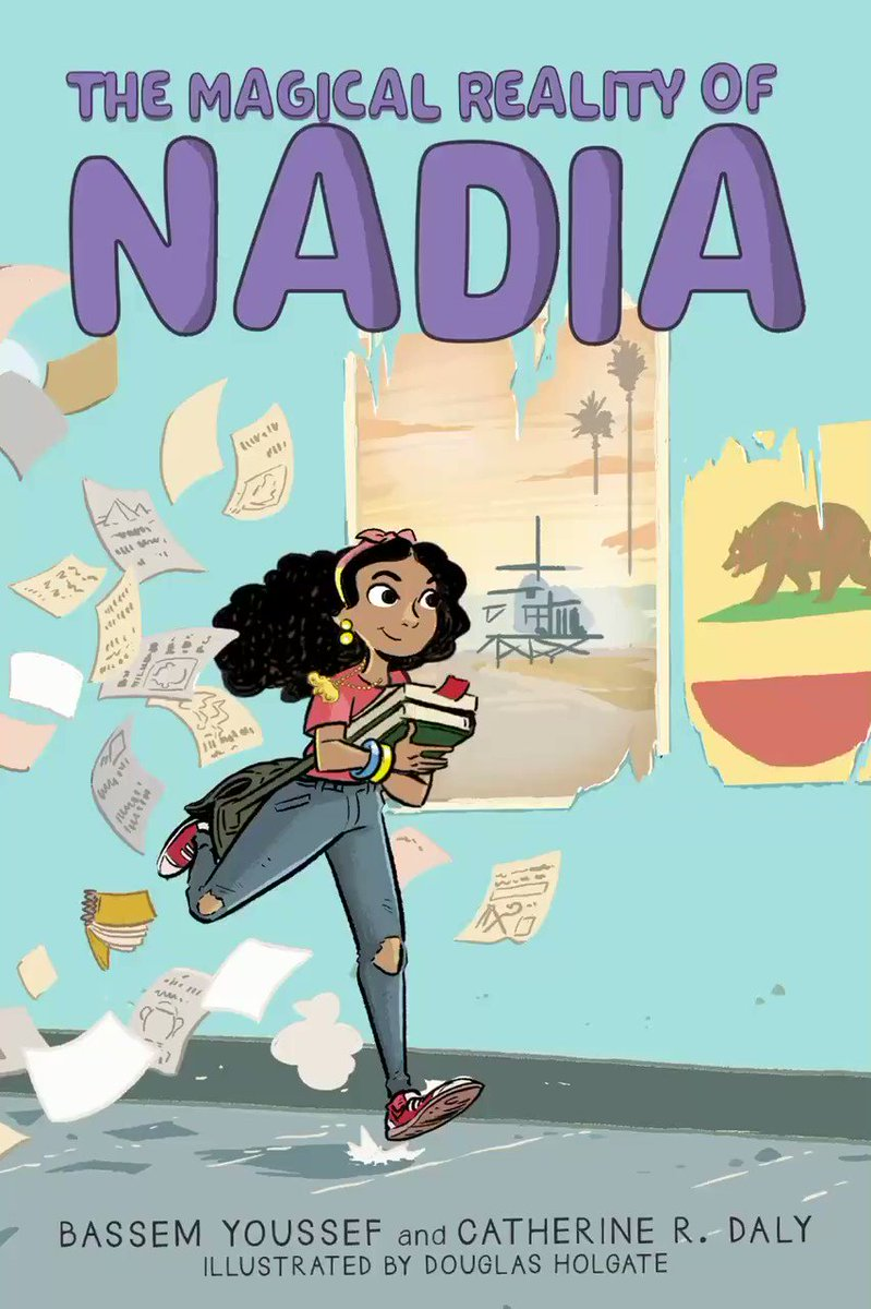 Today is the day! #TheMagicalRealityOfNadia is available now. I'm so excited for you all to get to know Nadia. Learn more:  @Scholastic  Amazon link :