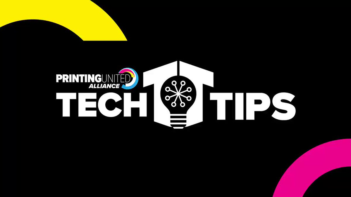 Image for the Tweet beginning: In this week's Tech Tip,