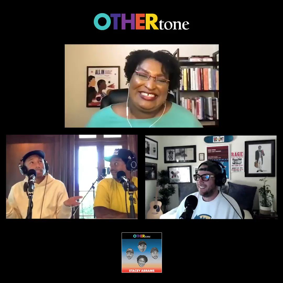 """Having nothing is no excuse for doing nothing."" 🗝   The level of admiration, awe + inspiration we had after chatting with @staceyabrams for the new episode of #OTHERtone? Unmatched.    Listen + Subscribe to get caught up:"