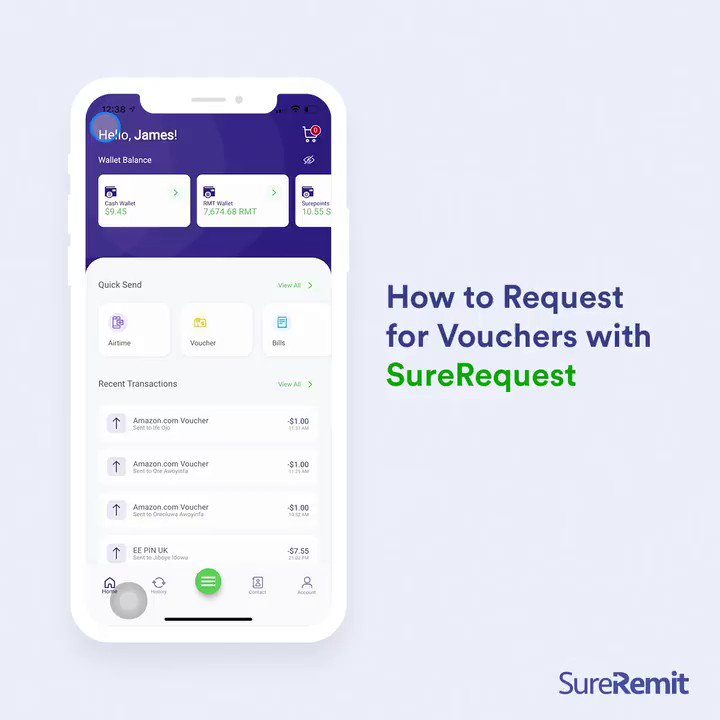 Image for the Tweet beginning: Use the SureRequest feature to