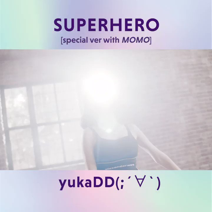 This hook is lowkey addictive plus MOMO dancing?! I can literally listen to this song all-day 🤤  Listen to [Superhero] here 🦸🏻‍♀️   @yukaDD_official @JYPETWICE_JAPAN  #yukaDD(;´∀`) #TWICE #트와이스 #트와이스모모 #모모 #MOMO #MOMO_yukaDD #SUPERHERO