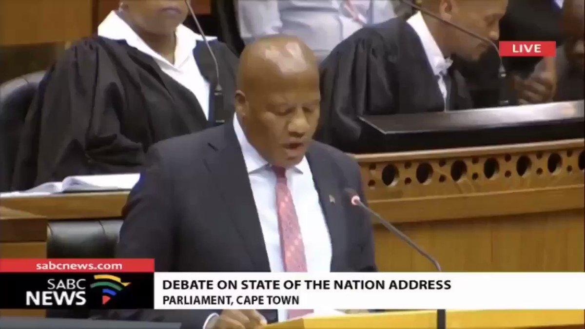 I miss SA Parliament debate #ripjacksonmthembu