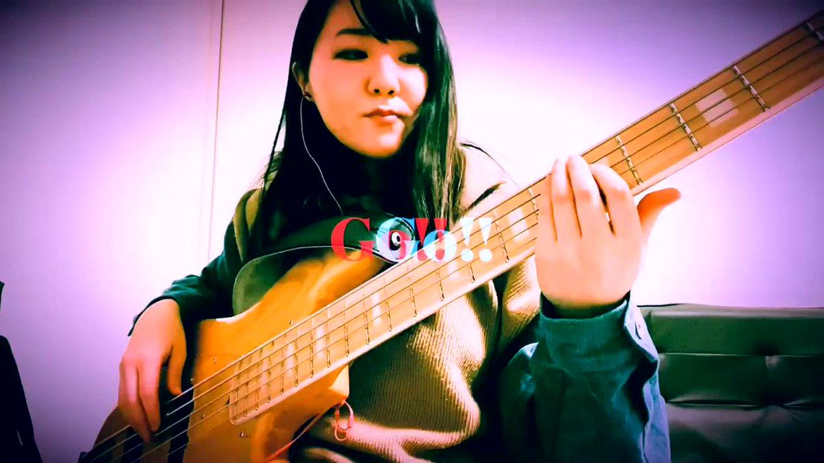 こんばんわお🙌🏻今日のベース日記📝サーモン丼食べてお腹いっぱいなので短め🤤#弾いてみた#ベース#bass#bassist#ベース女子#オリジナル曲#曲というほどでもない