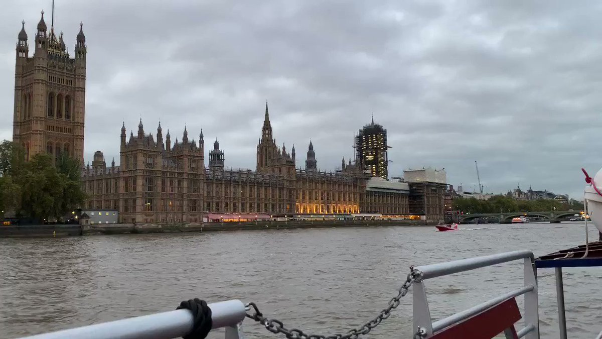 The Houses of Parliament as seen from the Connaught 21 October 2019 #HousesOfParliament #ThamesRiverBoats #RiverThames #Westminster #CityOfWestminster #BigBen #Millbank #Pimlico #WestminsterBridge #Lambeth #LambethBridge #Waterloo #Vauxhall #LondonsBridges #TheBridgeMan
