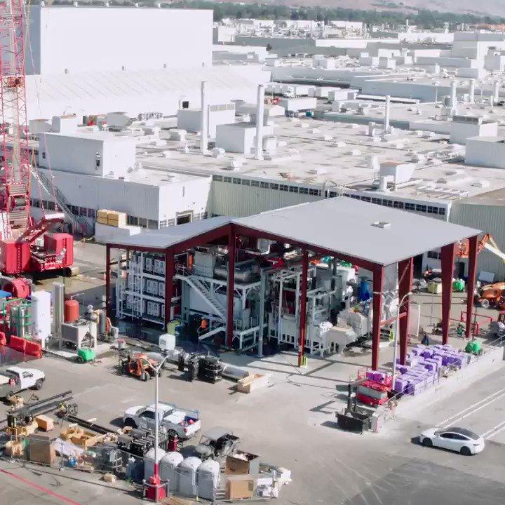World's biggest die casting machine